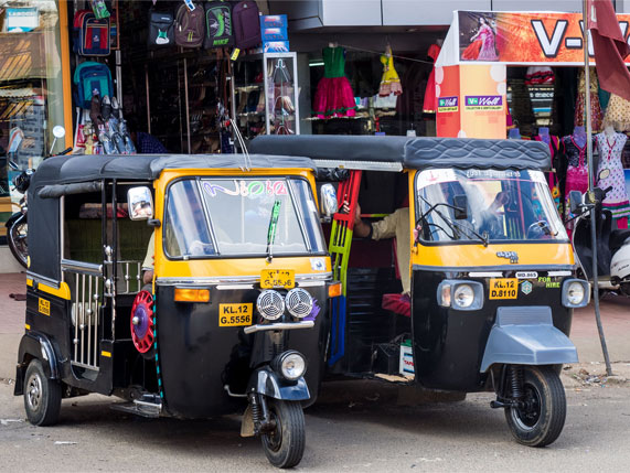 Taxi And Autorickshaw Services In Kerala