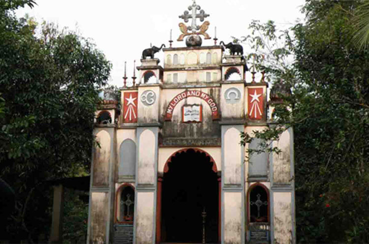 nilakkal-church
