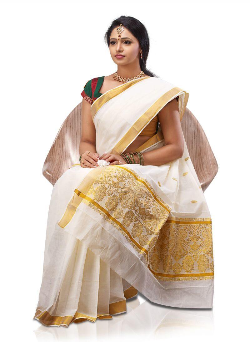 Actress Kerala Traditional Dress (4)
