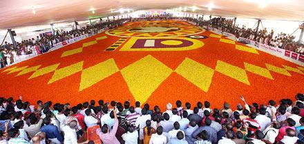 World's Largest Pookkalam – Othoruma