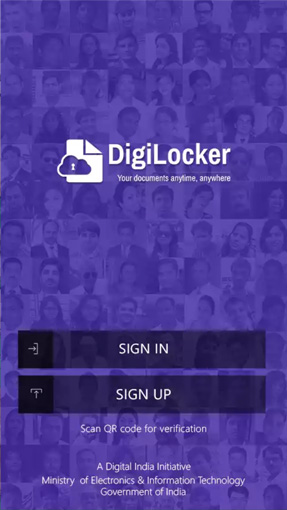 Digi Locker Android Application Secures Documents To A Single Portal